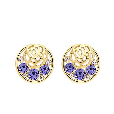 Dámské Náušnice Šperky Módní Přizpůsobeno Euramerican Křišťál Slitina Šperky Šperky Pro Svatební Párty 1 pár