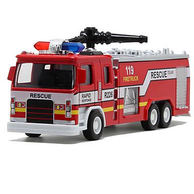 Carros de Brinquedo Brinquedos Trem Caminhão de Bombeiro Brinquedos Simulação Outros Cauda Caminhões de Bombeiros Liga de Metal Peças