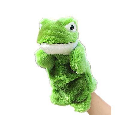 Fingerpuppen Puppen Spielzeuge Rabbit Frosch Tiere Plüsch Baby Stücke