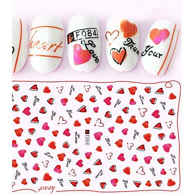 1pcs Etiquetas de unhas 3D Modelo de estampa de unhas Diário Fashion Alta qualidade