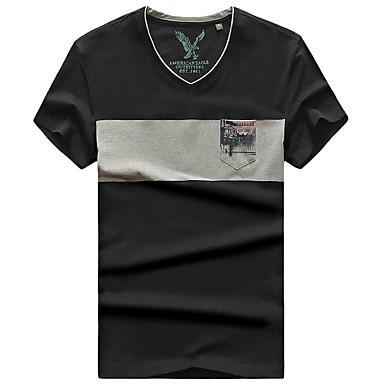 Herrn T-Shirt für Wanderer Atmungsaktiv T-shirt Oberteile für Camping & Wandern Sommer M L XL XXL XXXL