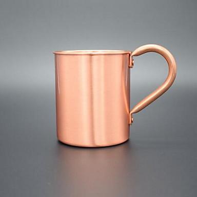 Trinkbecher, 550 Edelstahl Kupferrot Kaffee Champagner Teetassen Wasserflaschen Kaffeetassen Reisetassen
