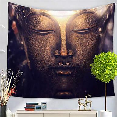Květinový motiv Wall Decor Polyester / polyamid Klasik Wall Art, Nástěnné tapiserie Dekorace