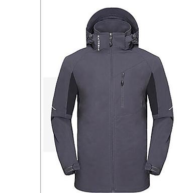 Homens Jaqueta de Trilha Ao ar livre Inverno Térmico/Quente Confortável Corrida