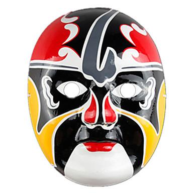 Máscaras de Dia das Bruxas Máscara Pintada a Mão Outros Terror Other Peças Unisexo Crianças Adulto Dom