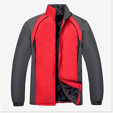 Herrn Wanderjacke warm halten Windundurchlässig Unterwäsche Shorts/Undershort für Radsport Herbst Winter XL XXL XXXL