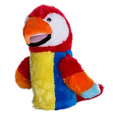 Fantoches Fantoche Pelúcias Brinquedos Parrot Animal Fofinho Adorável Felpudo Tactel Crianças Peças