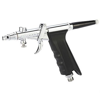 Kkmoon spray gun tipo modelo arte escova spray color arte artesanato aerógrafo pulverização aerógrafo conjunto