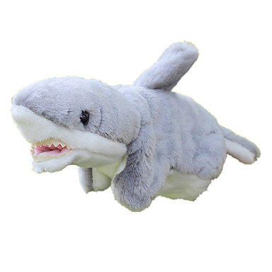 Fantoches Fantoche Tubarão Fofinho Adorável Tecido Felpudo Felpudo Crianças Dom