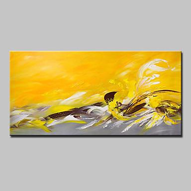 Handgemalte Abstrakt Horizontal,Modern Europäischer Stil Ein Panel Leinwand Hang-Ölgemälde For Haus Dekoration