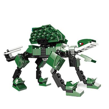 JIE STAR Blocos de Construir Quadrada Dinossauro Para Meninos Unisexo Brinquedos Dom