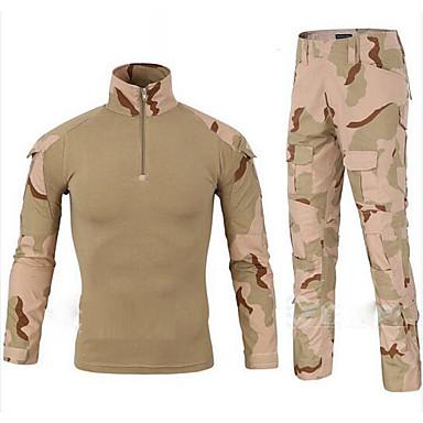 Homens Calças de Trilha Ao ar livre Casual Camiseta com Fecho Calças Corrida De Excursionismo