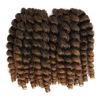 Cabelo para Trançar Clássico Tranças Crochet pré-laço / Extensões de Cabelo Natural 20 raízes / pacote Tranças de cabelo Cabelo Estilo Jamaicano Diário