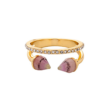 Dámské Prsten Módní Cute Style Euramerican Slitina Šperky Pro Svatební Párty Narozeniny