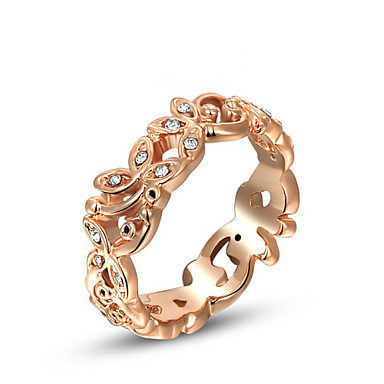 נשים טבעות הצהרה אופנתי סגסוגת תכשיטים עבור חתונה