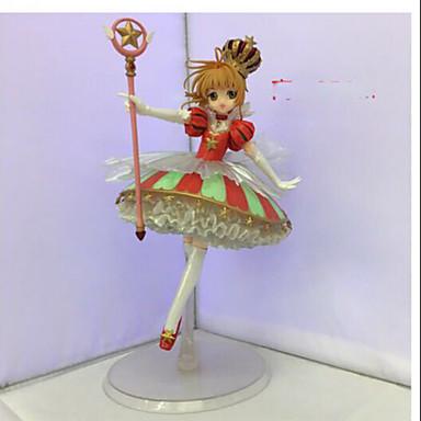 Anime Action-Figuren Inspiriert von Cardcaptor Sakura Sakura Kinomodo PVC 25cm CM Modell Spielzeug Puppe Spielzeug Unisex