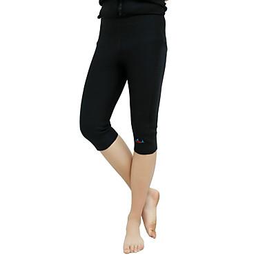 Herrn 3/4 Capri-Laufhosen warm halten Shorts/Laufshorts Unten für Taekwondo Übung & Fitness Laufen Samt Eng Schwarz S M XL