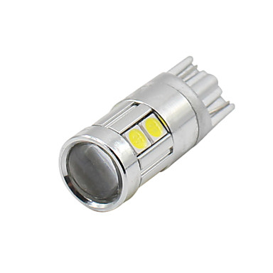 billige Interiørlamper til bil-SO.K 4stk T10 Bil Elpærer 3 W SMD 3030 300 lm LED Blinklys For Universell