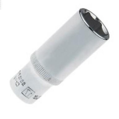 Ocelový štít 10mm série metrický 6 úhlové prodloužené pouzdro 17mm / 1 opěrka