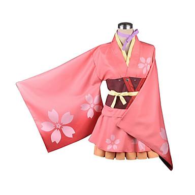 Cosplay šaty Kimono Více doplňků Inspirovaný Kabaneri železné pevnost Bezejmenná herečka Anime Cosplay Doplňky Pásek Mašle Více doplňků