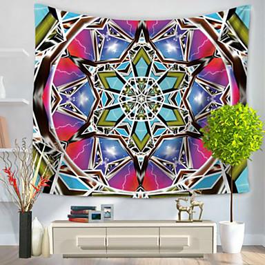 Abstrato Decoração de Parede 100% Poliéster Retro Arte de Parede, Tapetes de parede Decoração