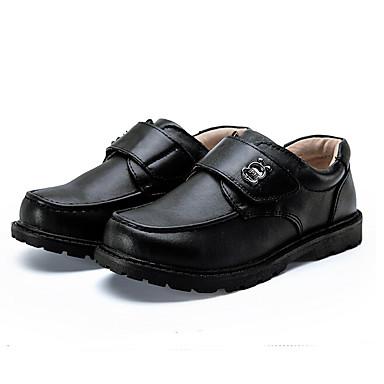 Miesten kengät Tekonahka Kevät Comfort Lenkkitossut Musta
