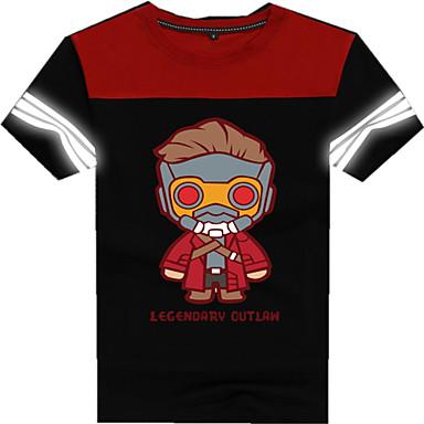 Cosplay Kostüme Zeichentrick - Kapuzenpullover & Pullover Superheld Film/Fernsehen Thema Kostüme Film Cosplay T-shirt Halloween Karneval