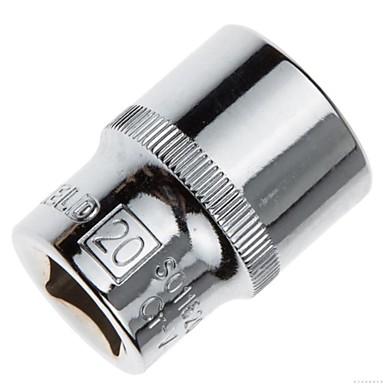 Stahl Schild 12.5mm Serie metrische 6 Winkel Standard Hülse 20mm / 1 Unterstützung