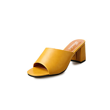 Dámské Sandály Léto PU Kačenka Bílá Černá Žlutá 7.5 - 9.5 cm