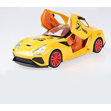 Brinquedos Carro de Corrida Brinquedos Música e luz Liga Peças Crianças Dom
