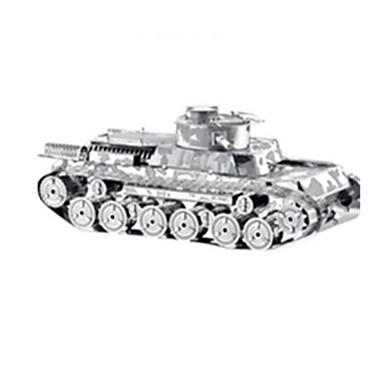 voordelige 3D-puzzels-3D-puzzels Legpuzzel Modelbouwsets Tank Oorlogsschip Vliegtuig DHZ Metallic Roestvast staal Klassiek Unisex Speeltjes Geschenk