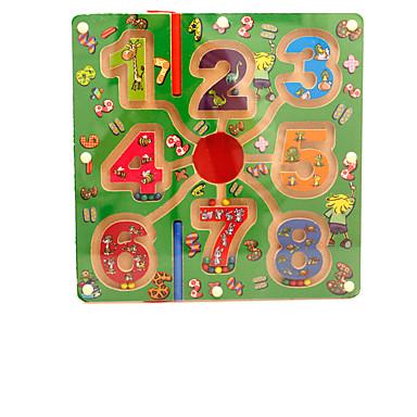 Deskové hry Magnetické bludiště Hračky Magnetické PVC Pieces Dětské Dárek