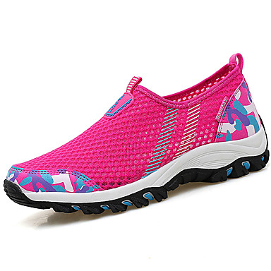 redondo Mujer Paseo Verano Dedo Plano Gris Tacón 05960167 Bailarinas Fucsia Azul Rosado claro Combinación Zapatos Tul para Piscina qw8rC1q