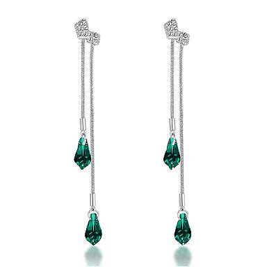 Dámské Šperky Křišťál Ostatní Fuchsiová, Zelená, Světle modrá