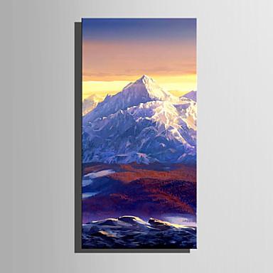 Tela de impressão 1 Painel Tela de pintura Vertical Estampado Decoração de Parede Decoração para casa