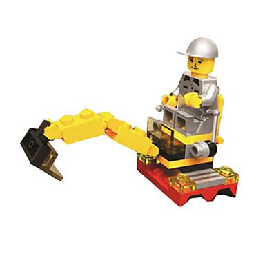 Blocos de Construir Bonecos em Blocos de Montar pçs Tanque Maquina de Escavar Escavadeiras Para Meninos Unisexo Brinquedos Dom