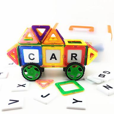 Magnetické hračky Magnetický blok / Autíčka / Stavební bloky Magnetické / Udělej si sám Auto Chlapecké Dětské Dárek