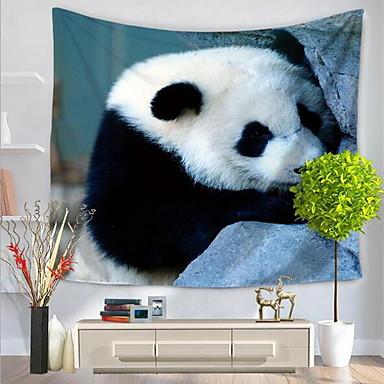 Zvíře Wall Decor 100% polyester Se vzorem Wall Art, Nástěnné tapiserie Dekorace