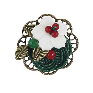 Dámské Brože Základní design Květinový Slitina Flower Shape Šperky Pro Ležérní