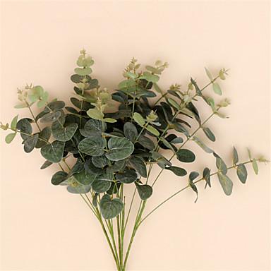 1 Větev Hedvábí Rostliny Květina na stůl Umělé květiny