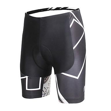 ILPALADINO Bermudas Acolchoadas Para Ciclismo Homens Moto Shorts Calças Roupa de Ciclismo Ciclismo Secagem Rápida Design Anatômico