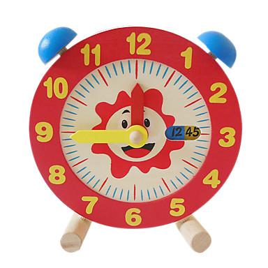 Holz Uhr Spielzeug Uhr Bildung Kinder Spielzeuge Geschenk