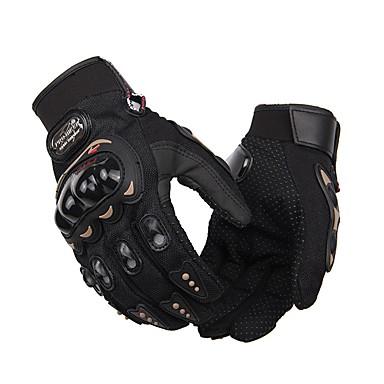 Akvitita a sport Unisex Bisiklet Eldivenleri Rukavice na kolo Nositelný Prodyšné Ochranný Celý prst Látka Cyklistické rukavice