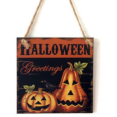 Ocasião Especial / Halloween Material De madeira Decorações do casamento Férias Primavera/Outono/Inverno/Verão