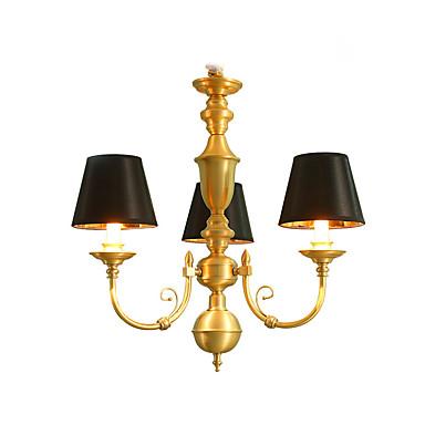 3-Light Lustry Světlo nahoru - Mini styl, LED, 110-120V / 220-240V Žárovka je zahrnuta v ceně. / 10-15㎡ / E12 / E14