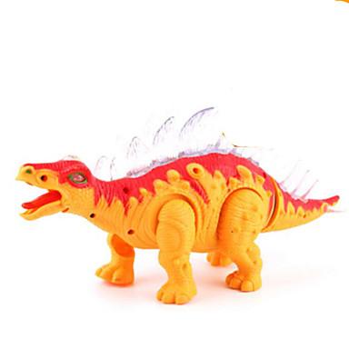 Dragões & Dinossauros Figuras de dinossauro estegossauro Dinossauro jurássico Triceratops Tiranossauro Rex Elétrico Plástico Crianças Dom