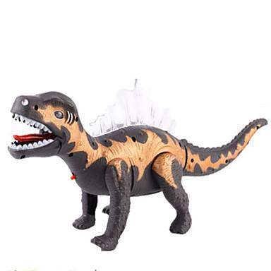 Dragões & Dinossauros Figuras de dinossauro Dinossauro jurássico Triceratops Tiranossauro Rex Elétrico Plástico Crianças Dom