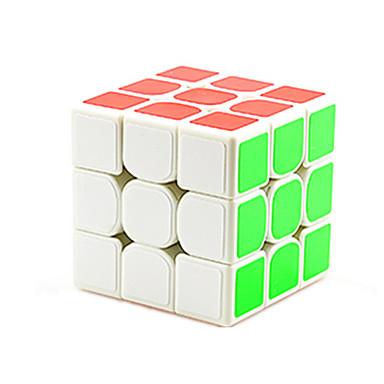 Rubik's Cube 3*3*3 Cubo Macio de Velocidade Cubos mágicos Cubo Mágico Adesivo Liso Concorrência Dom Unisexo