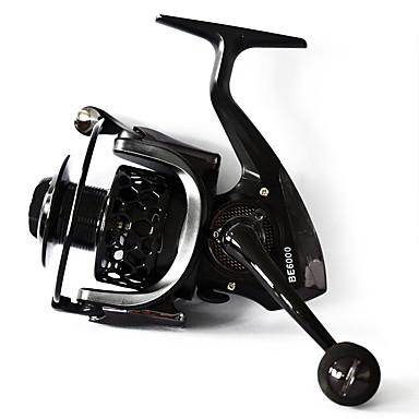 Molinetes Rotativos 4.7:1-5.5:1none Relação de Engrenagem+13none Rolamentos Orientação da mão Trocável Pesca Geral - BE4000