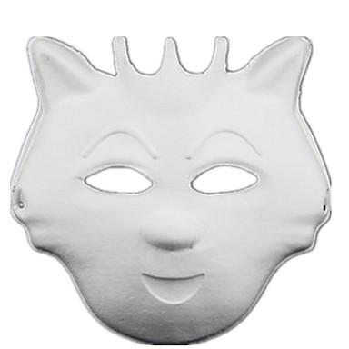 Máscaras de Dia das Bruxas Máscara de Animal Máscara de Desenho Animado Terror Peças Unisexo Crianças Dom
